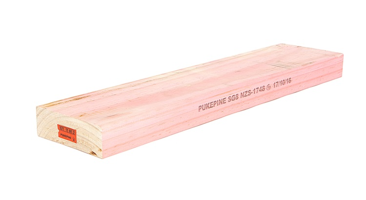Pink H3.2 Treated Wood